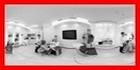 парикмахерский зал панорама спа клуб салон красоты центр косметологии 360